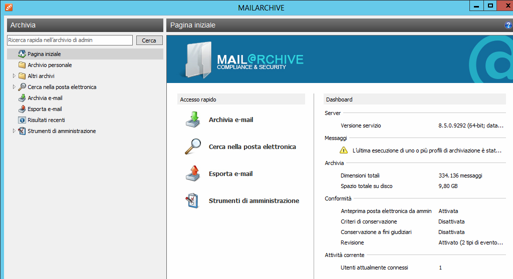 Mailarchive 1 g