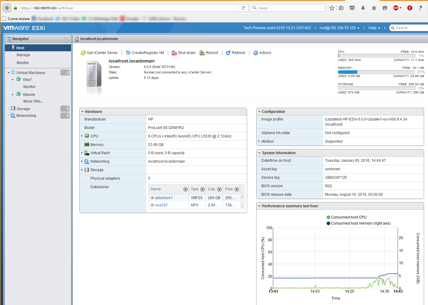 esxi vib dashboard all