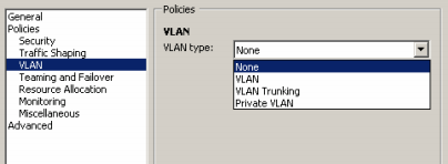 vsphere distributed vswitch gestione vlan client