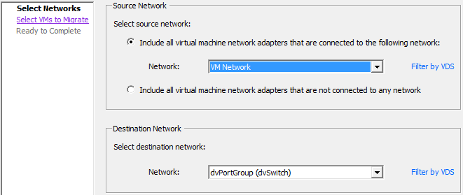 vsphere distributed vswitch vm client 2